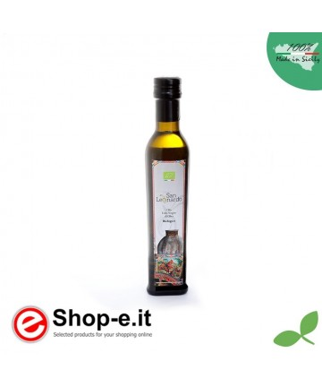 0.25 liter Sizilianisches Bio-Olivenöl extra vergine