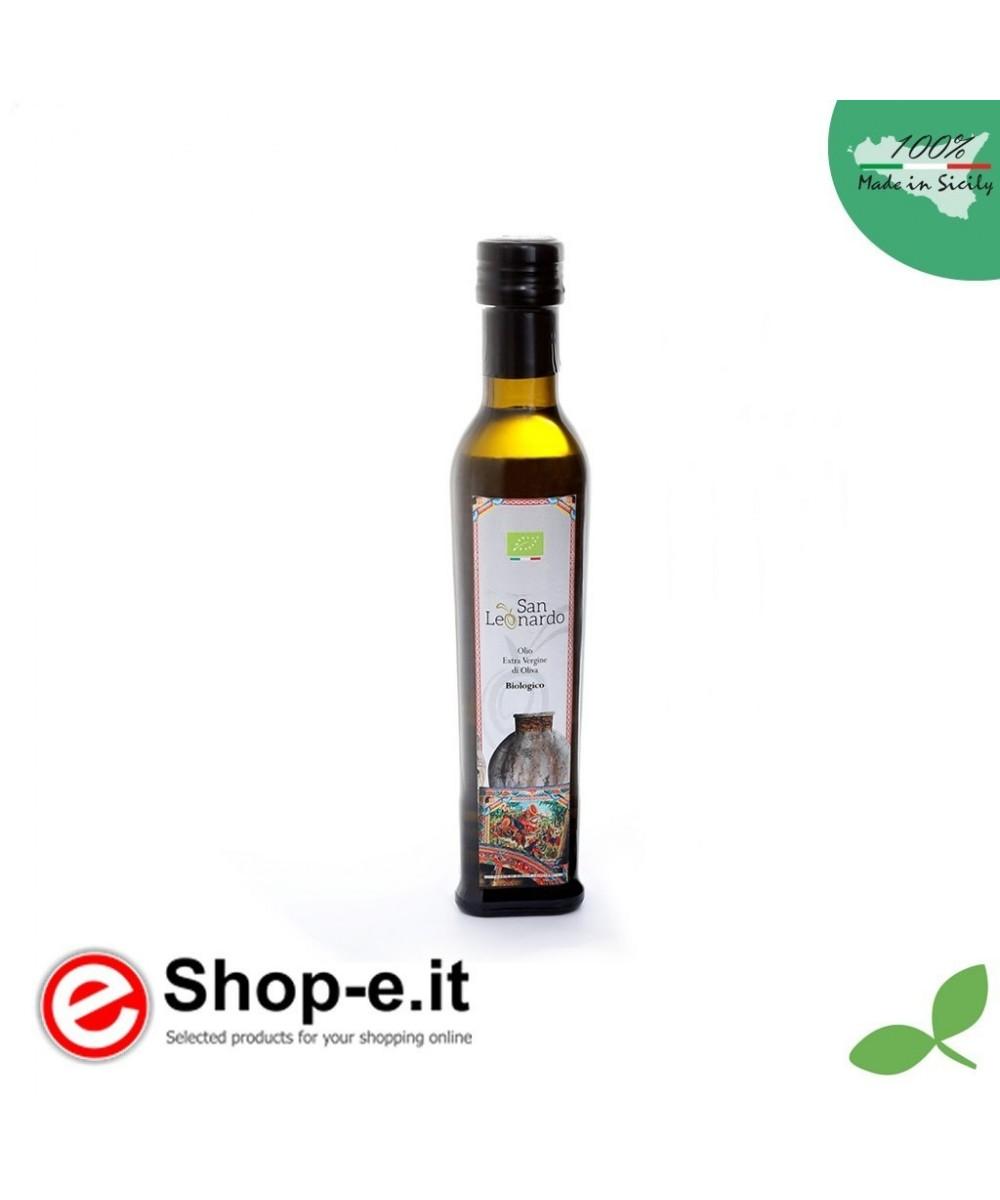 0.25 liter Sizilianisches Bio-Oliven�l extra vergine