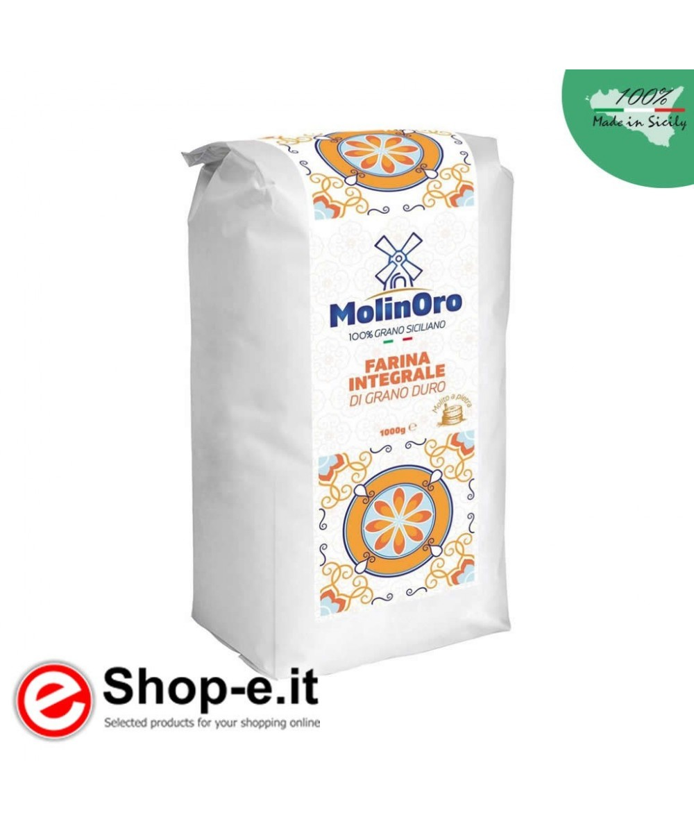 1 Kg of Sicilian whole wheat flour