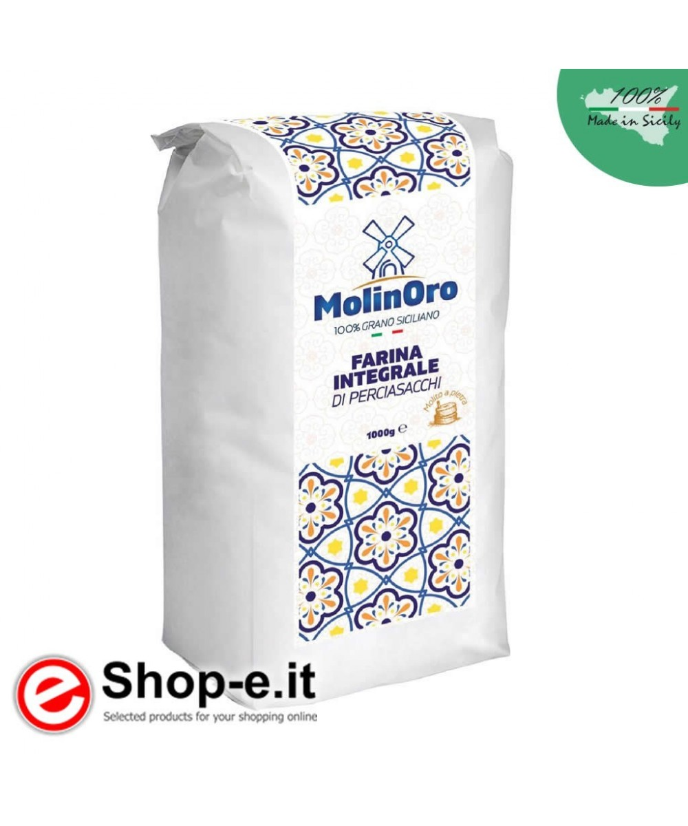 5 kg of wholemeal flour from PERCIASACCHI