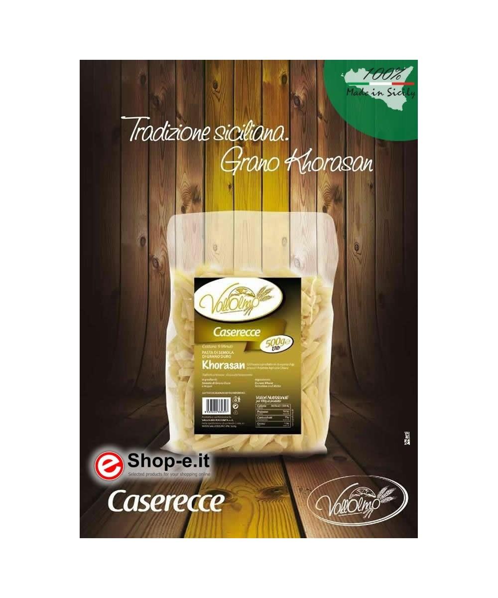 6 kg Caserecce aus sizilianischem Hartweizen Khorasan