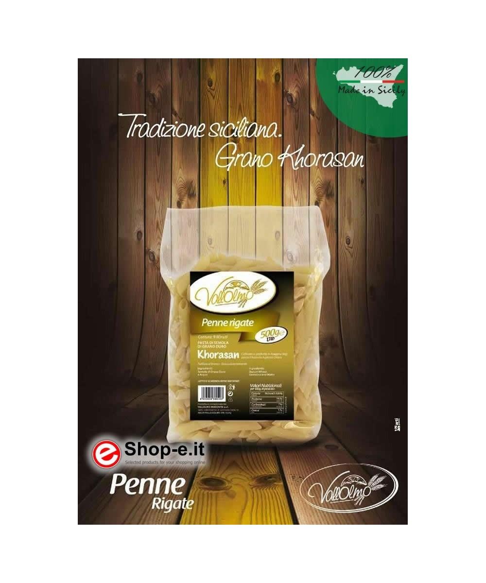 6kg of Sicilian durum wheat Penne Rigate Khorasan