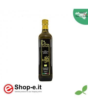 Bottiglia 0,75 lt Olio Extra Vergine di Oliva da coltivazione biologica