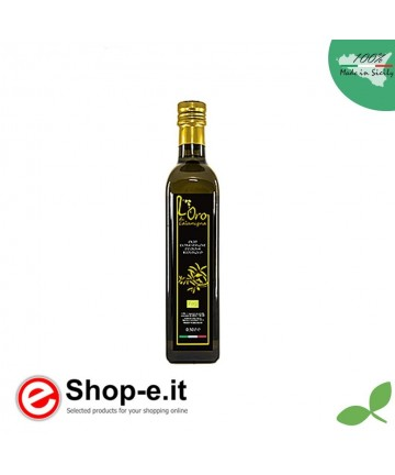 Bottle 0,50 lt Extra Virgin Olive Oil from organic cultivation