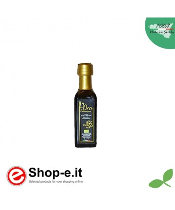 Bottle 0,10 lt Extra Virgin Olive Oil from organic cultivation