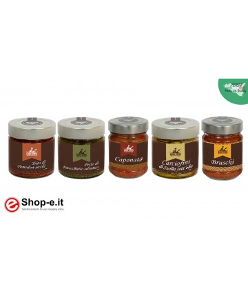 Ancient Sicilian preserves, savings pack