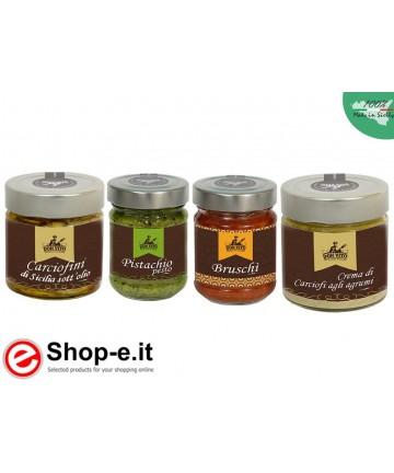 Sizilianisch konserviert Sparpaket