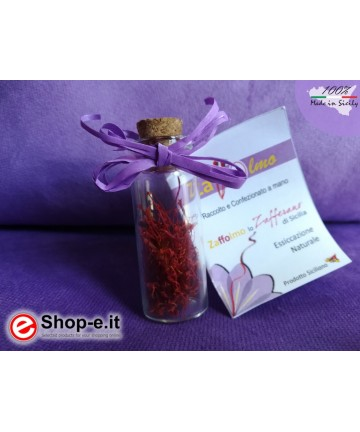 Saffron flask in stigmas of 0.50 g (16 portions)