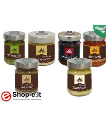 Pesto e crema di carciofi siciliani, confezione risparmio