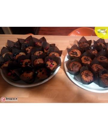 Muffin fatti con il preparato le Torte di Mambo