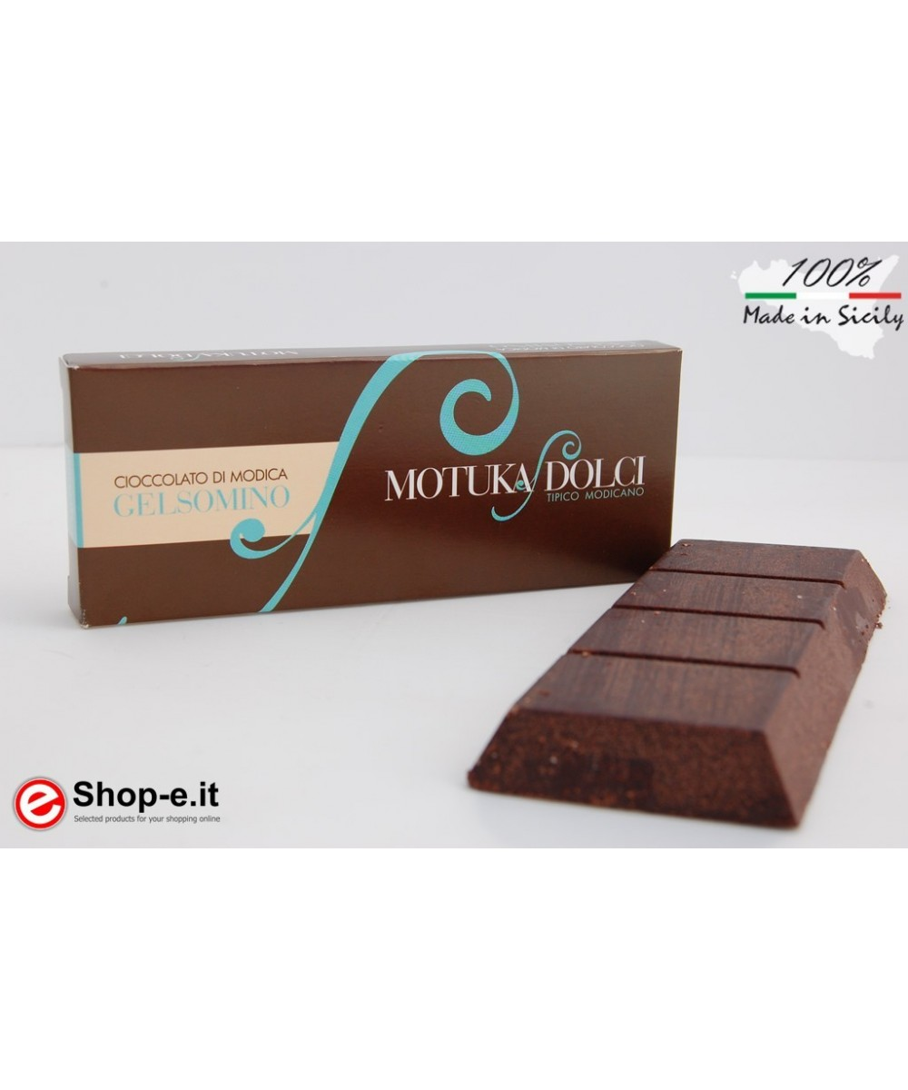 100g jasmine Modica chocolate