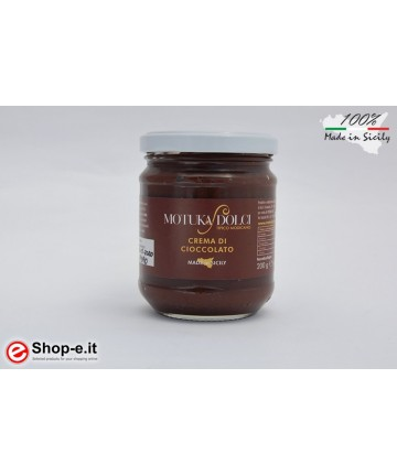 Crema spalmabile al cioccolato di  Modica