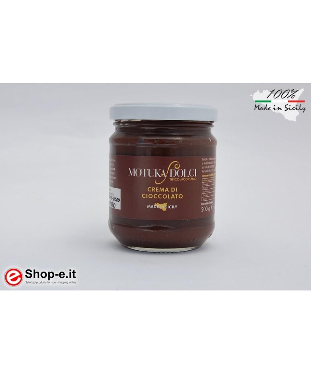 200 grams of Modica chocolate spread