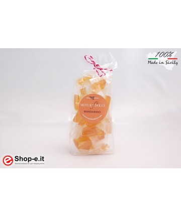 Handmade mandarin candies