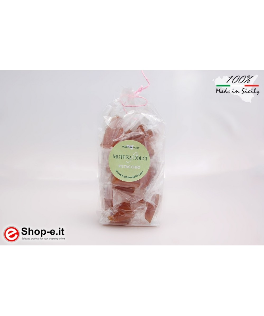 Handcrafted pistachio candies of 100 grams