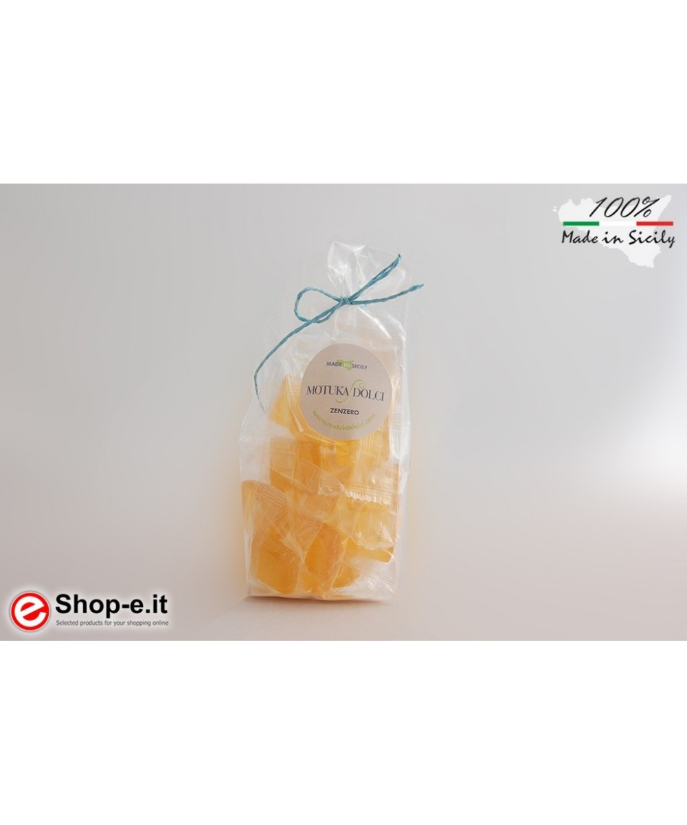 Handcrafted ginger candies of 100 grams