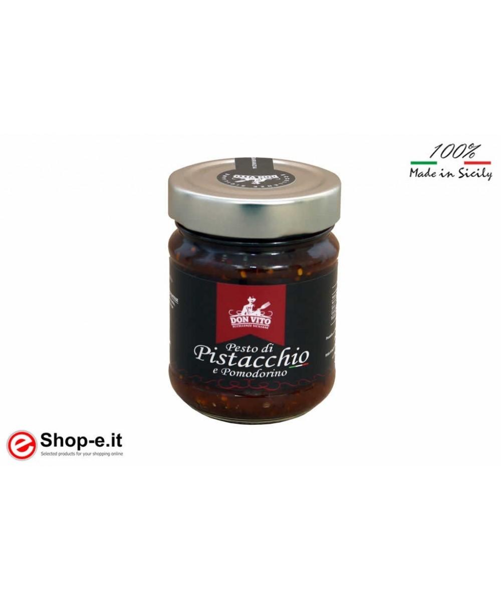 Pistazienpesto und 190 Gramm Tomaten