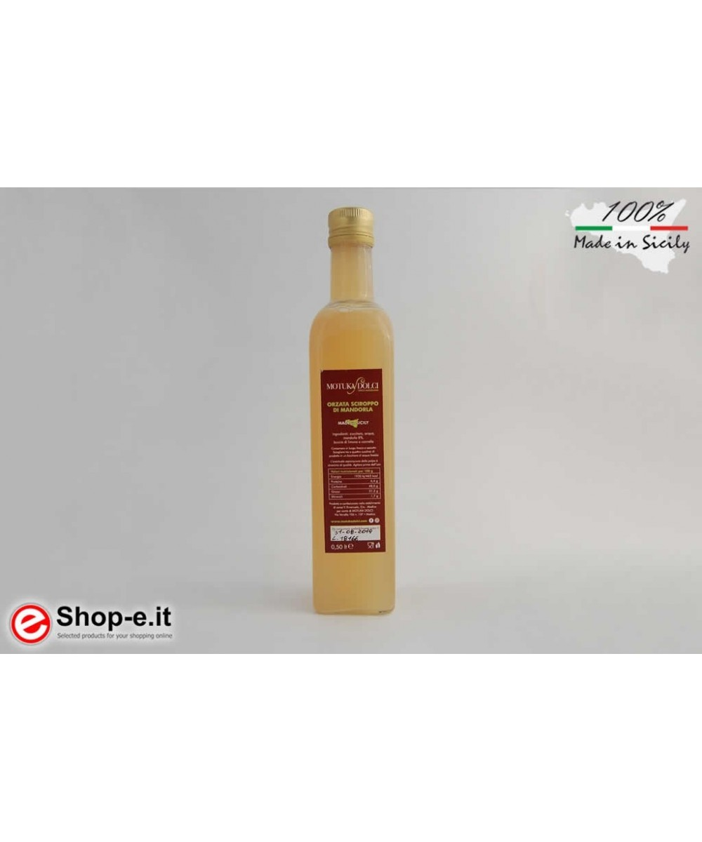 Almond syrup of 0.5 LT