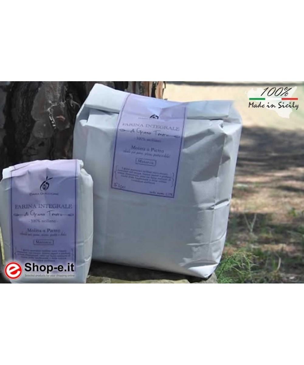 farina integrale di grano tenero siciliano  MAIORCA