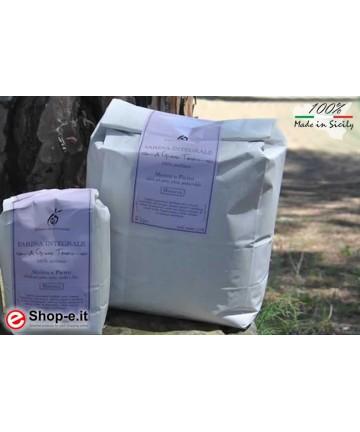 farina integrale di grano duro siciliano Perciasacchi