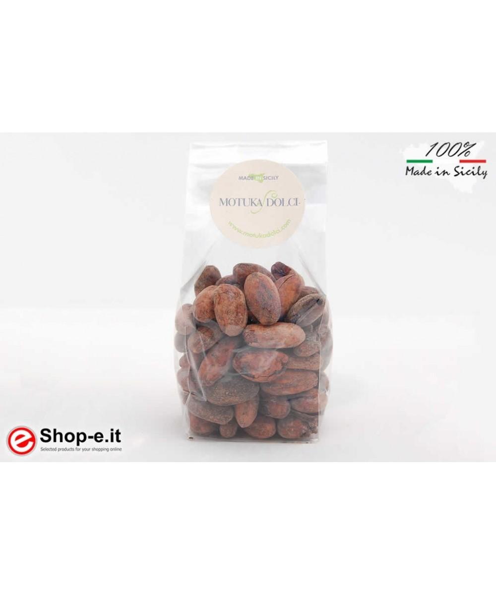 Geröstete Kakaobohnen