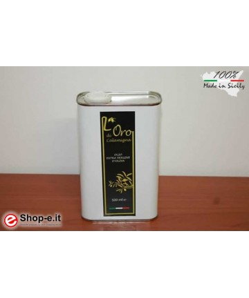 Extra Virgin Olive Oil from organic cultivation