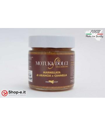 Marmellata di arance di Sicilia e cannella da 250 grammi