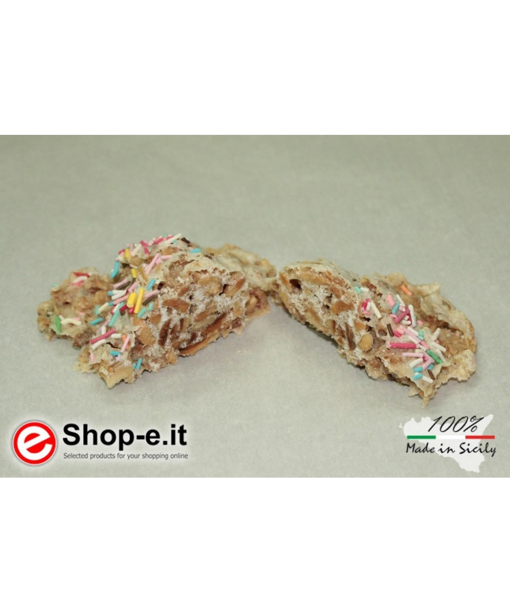 Scattata of Sicilian almonds