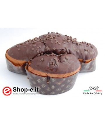 Chocolate Easter cake from Modica of 1 Kg