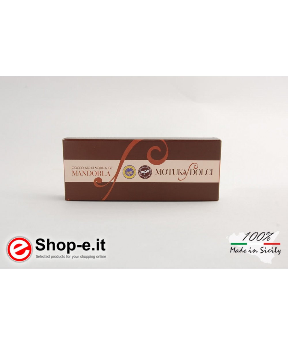 100g Modica almond chocolate