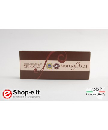 Traditional  Modica chocolate
