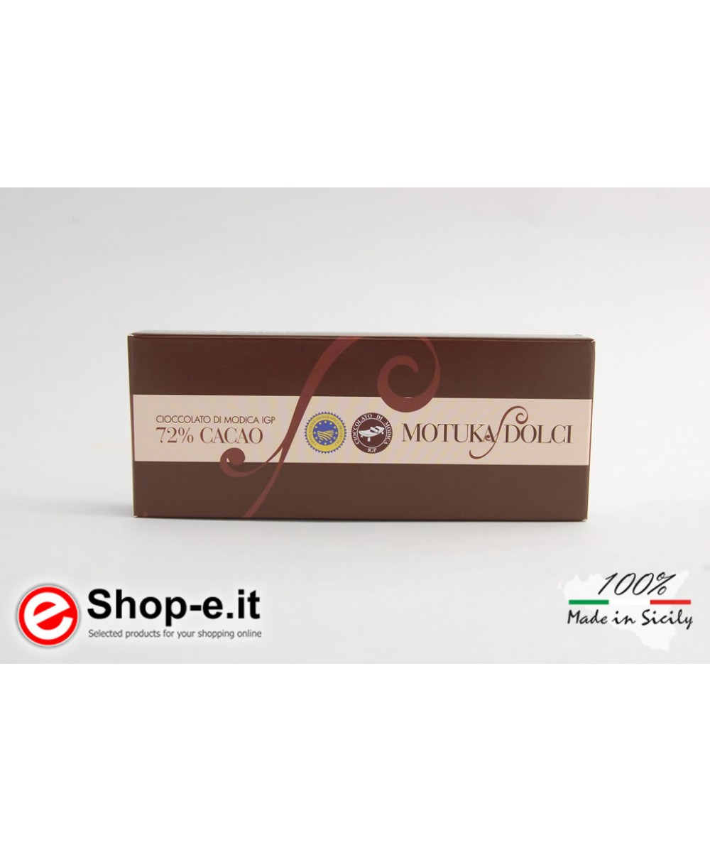 Traditional 100 grams Modica chocolate