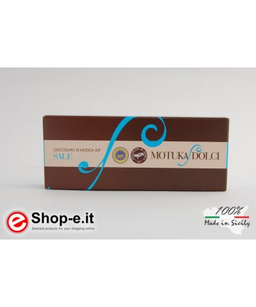 Trapani salt of Modica chocolate