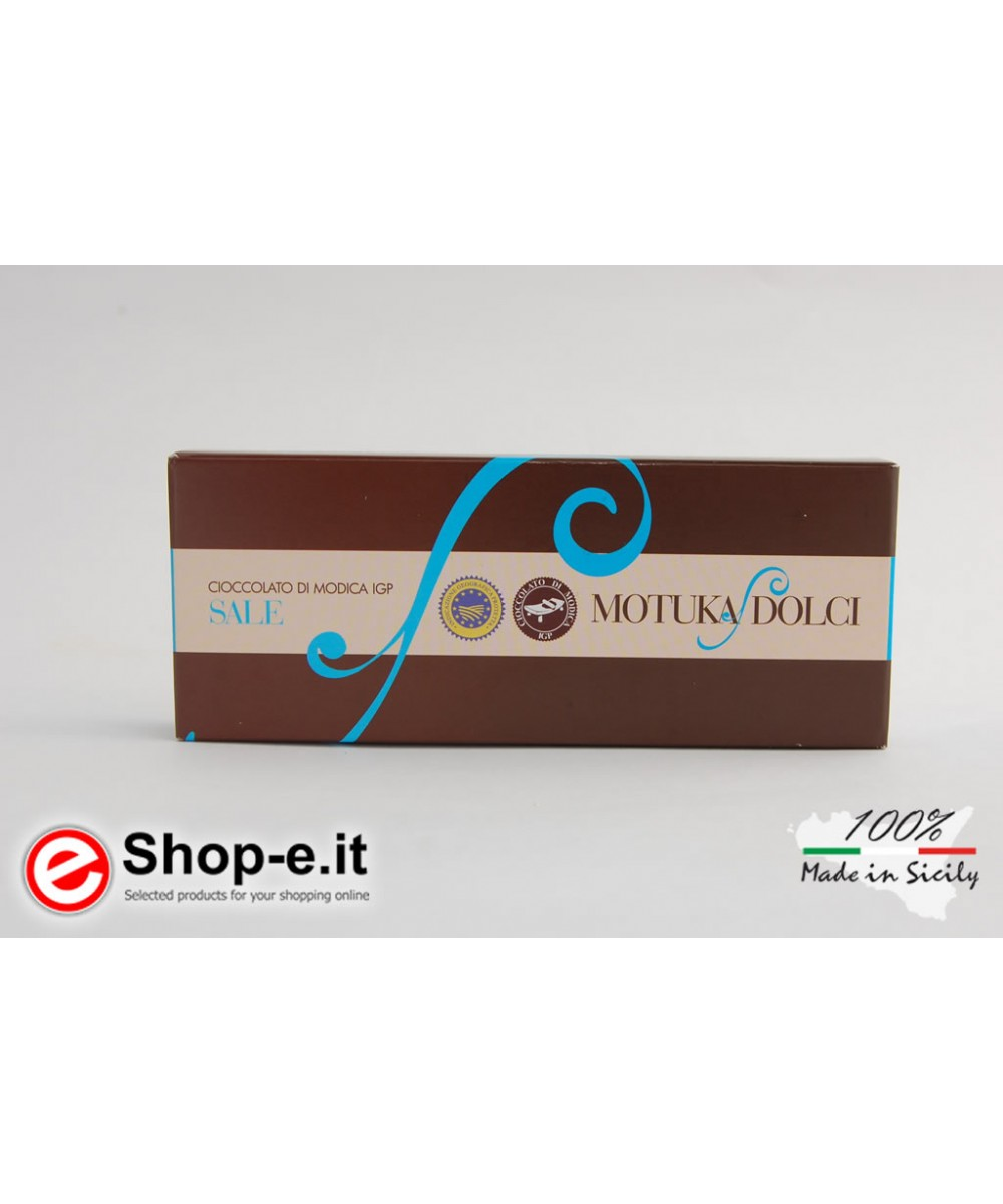 100 gr. Trapani salt of Modica chocolate