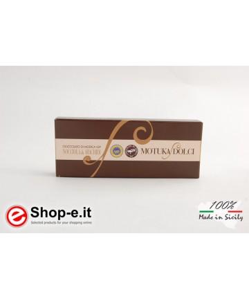 Modica Schokolade mit 100 Gramm Haselnüssen