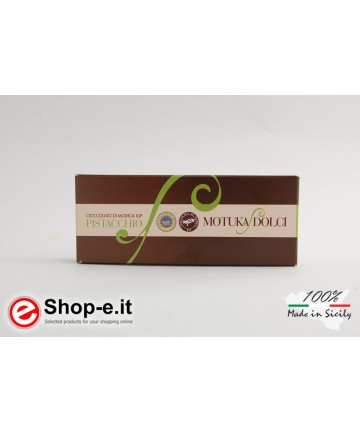 100g pistachio Modica chocolate