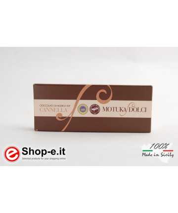 100g Modica Cinnamon Chocolate
