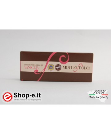 100 gr. Vanilla Modica chocolate