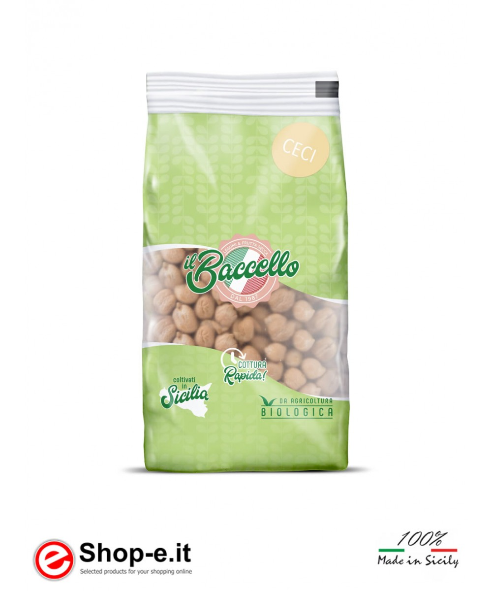 Sicilian organic chickpeas from 4,8Kg