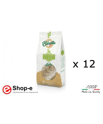 ORGANIC MIGNON GREEN LENTILS - CULTIVATED IN SICILY