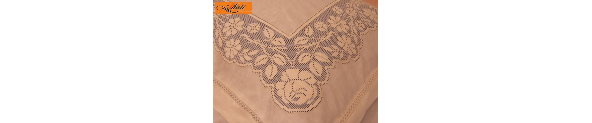 Hand made Sicilian embroidery